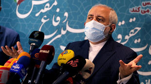 Foreign Minister Mohammad Javad Zarif confirms Iran has begun imposing new restrictions on UN inspections until the United States return to a 2015 nuclear deal and lifts punishing sanctions