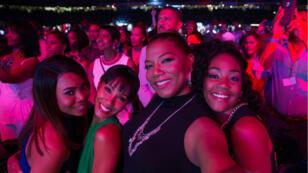 "Regina Hall, Jada Pinkett Smith, Queen Latifah et Tiffany Haddish au casting du film ""Girls Trip""."