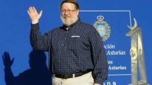مخترع البريد الإلكتروني ري توملينسون في 2009
