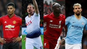 Manchester United, Tottenham, Liverpool y Manchester City clasificaron a cuartos de final de la UEFA Champions League.