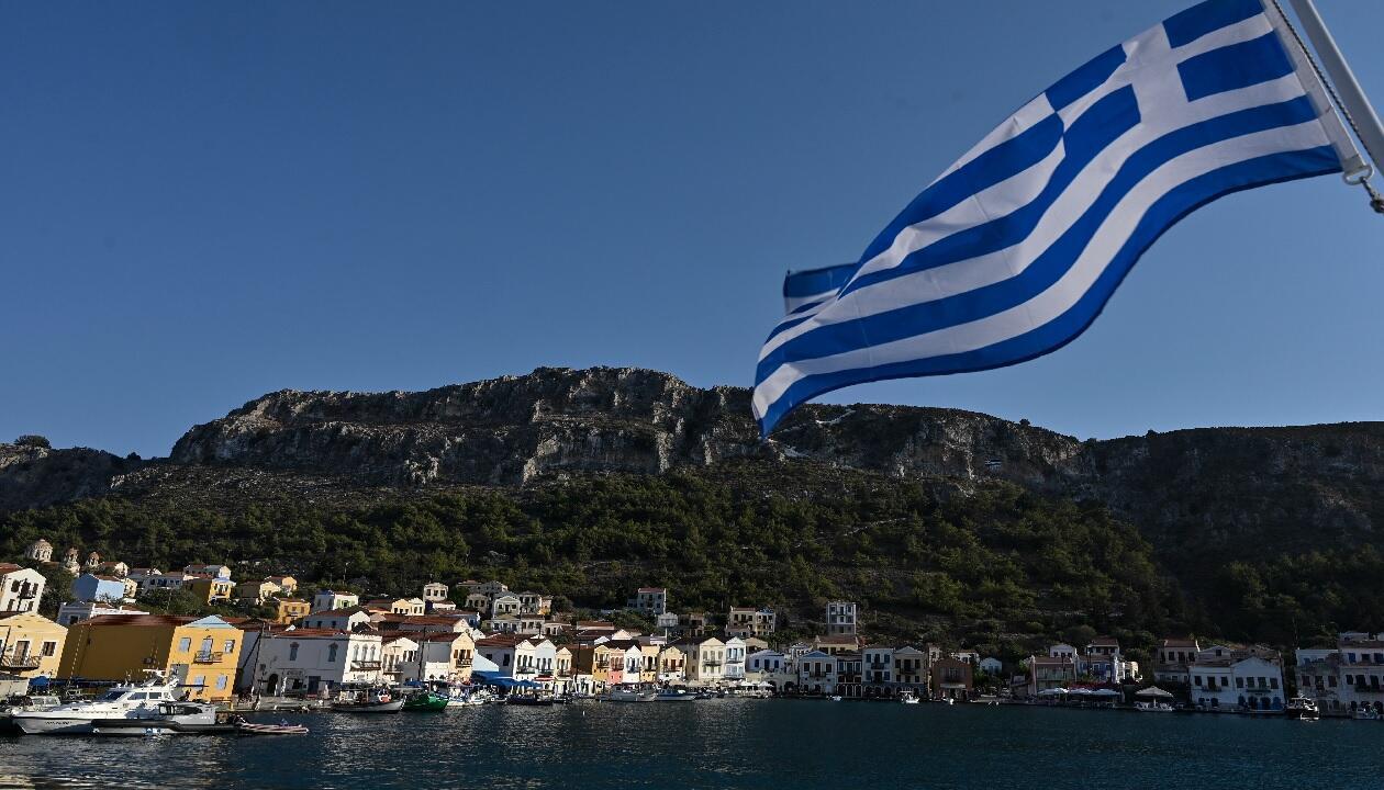 جانب من جزيرة ميس اليونانية