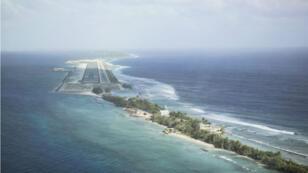 Aéroport international, atoll de Majuro, République des îles Marshall.
