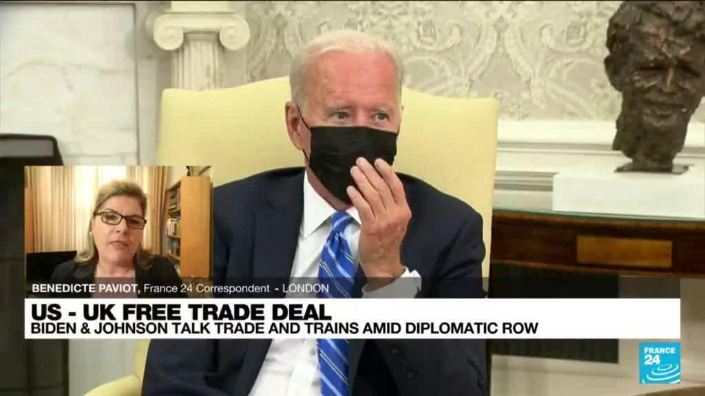 2021-09-22 12:01 Biden non-committal on US-UK free trade deal