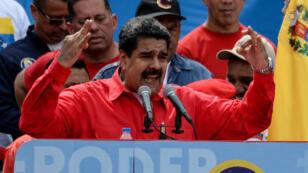 """Washington considère désormais Nicolas Maduro comme """"un dictateur""""."""