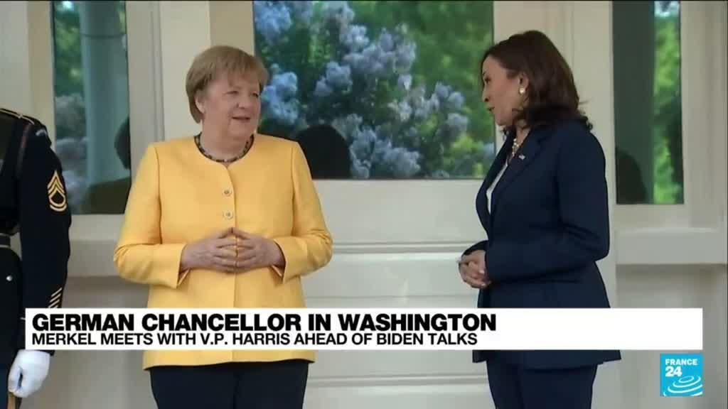 2021-07-15 15:04 Harris to host Merkel before chancellor's talks with Biden