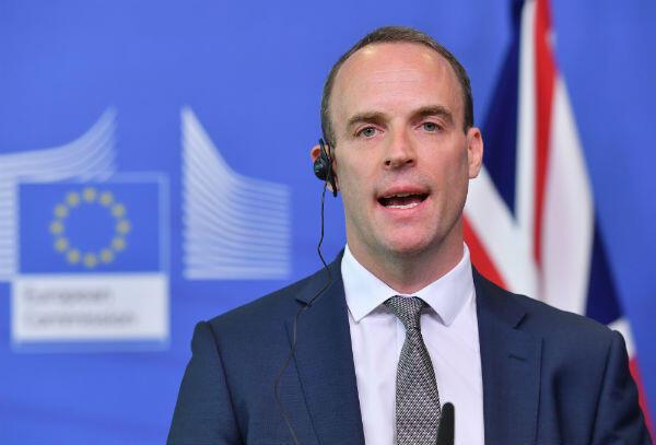 Dominic Raab a quitté le poste de ministre du Brexit, jeudi 15 novembre.