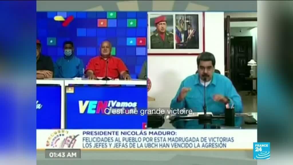 2020-12-07 10:38 Législatives au Venezuela : Nicolas Maduro prend le contrôle du Parlement