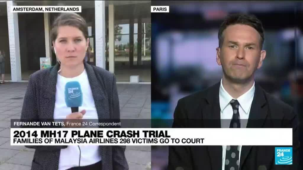 2021-09-06 11:10 2014 MH17 plane crash trial: Families of Malaysia Airlines 298 victims go to court