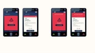 """L'application """"SAIP"""" (""""système d'alerte et d'information des populations"""") est téléchargeable gratuitement à partir du 8 juin, quelques jours avant le coup d'envoi de l'Euro 2016."""