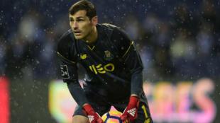 Le gardien de but espagnol Iker Casillas.