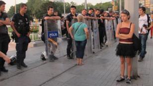 Manifestation le 29 juin sur la place Taksim.