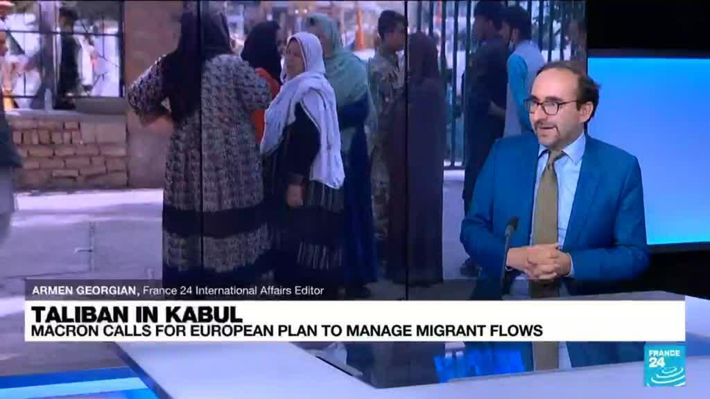2021-08-17 09:02 Taliban in Kabul: Macron calls for European plan to manage migrant flows