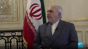 Le ministre iranien des Affaires étrangères, Mohammad Javad Zarif, répond aux questions de France 24.