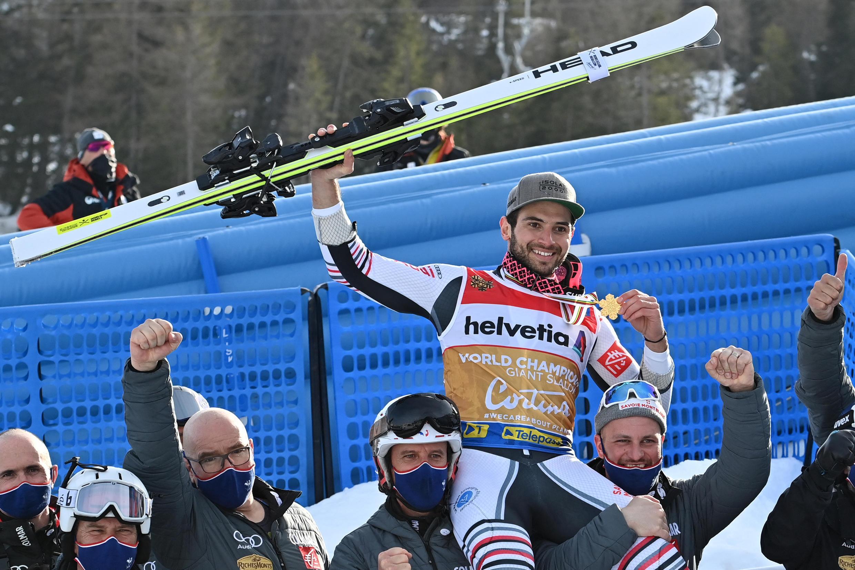 Ski alpin geant Mathieu Faivre