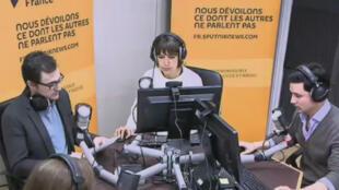 La rédaction française de Sputniknews.com à Paris.