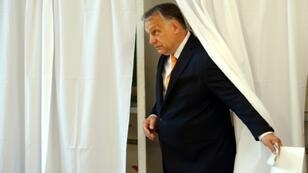 Hungarian Prime Minister Viktor Orban's Fidesz party scored a big win in the EU polls