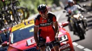 Greg Van Avermaet a remporté la 5e étape du Tour de France dans le Lioran au terme d'une belle échappée, le 6 juillet 2016.