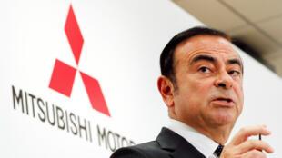 Imagen de archivo muestra a Carlos Ghosn durante una rueda de prensa, en Tokio (Japón), el 20 de octubre de 2016.