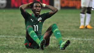 Le Burkinabè Jonathan Pitroipa incrédule