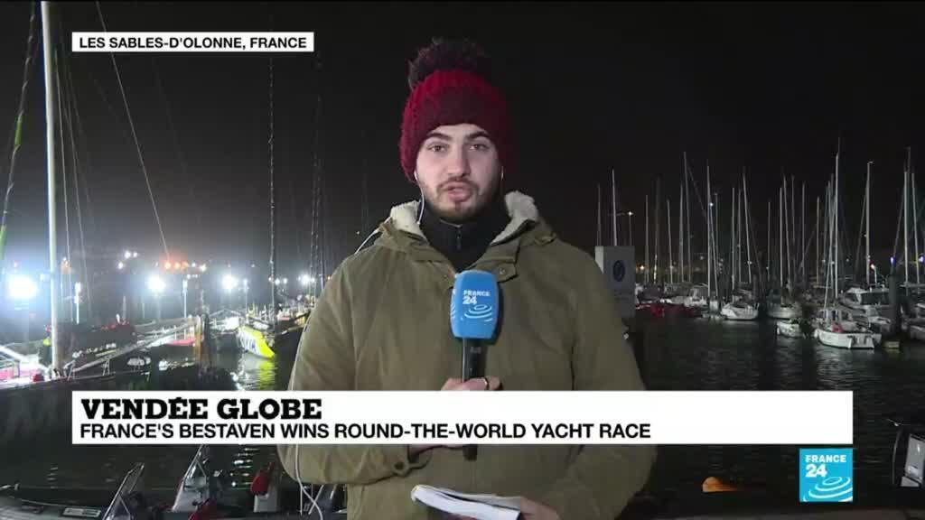 2021-01-28 09:02 France's Bestaven wins dramatic Vendee Globe round-the-world race
