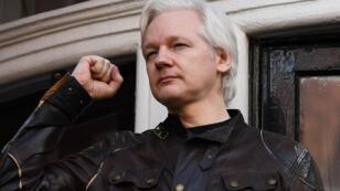 Le fondateur de Wikileaks, Julian Assange, le 19 mai 2017.
