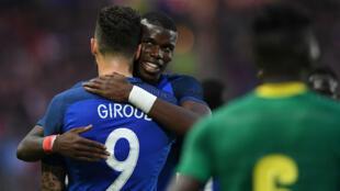 Les Bleus ont été bousculés par le Cameroun, lundi à Nantes (3-2)