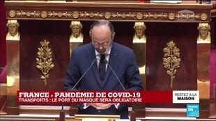 2020-04-28 15:51 Coronavirus - Philippe à l'Assemblée : Libertés et interdits, ce qui sera possible après le 11 mai