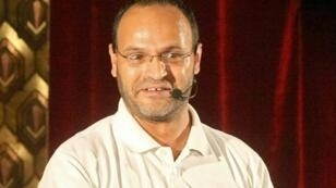 الممثل المسرحي اللبناني زياد عيتاني في 18 تموز/يوليو 2013