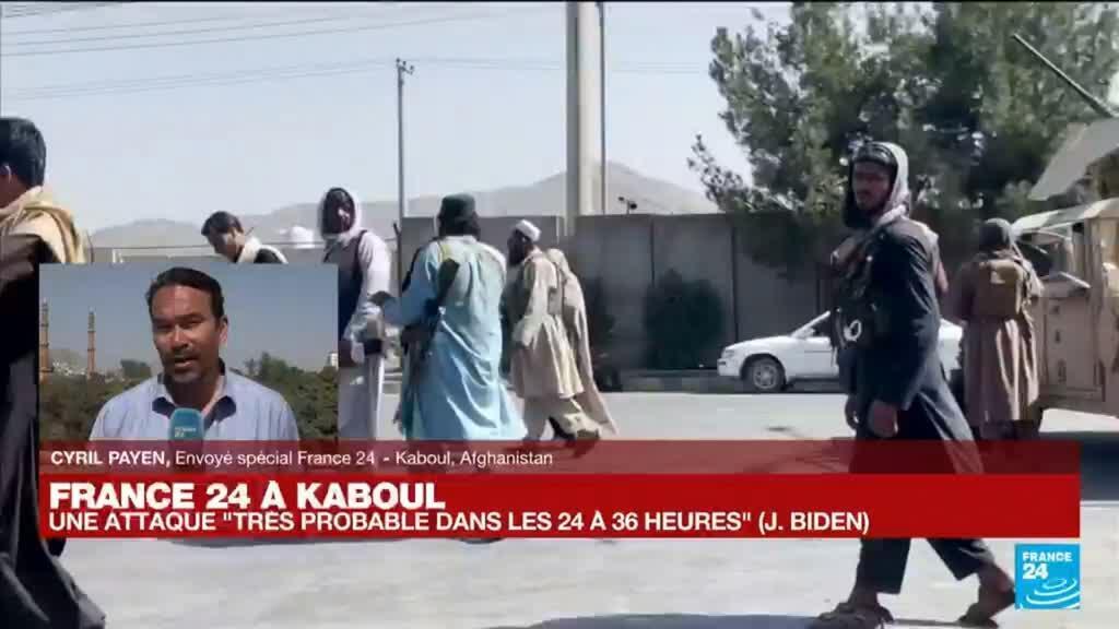 """2021-08-29 07:05 Afghanistan : """"La menace terroriste sur l'aéroport de Kaboul est prise très au sérieux"""""""