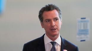 California's Governor Gavin Newsom speaks to the media in Sacramento, California, USA, March 3, 2020.