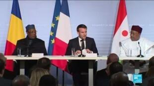 2021-02-15 16:06 G5 Sahel summit: Macron, regional leaders discuss jihadist insurgency