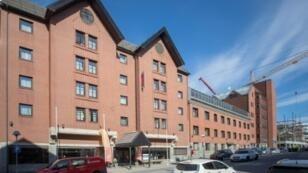 The hotel in Bodo, Norway, where Julian Assange's missing associate Arjen Kamphuis was last seen on August 20
