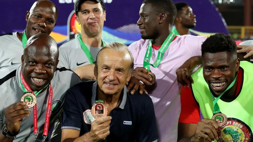 Nigeria finishes third in Africa Cup of Nations
