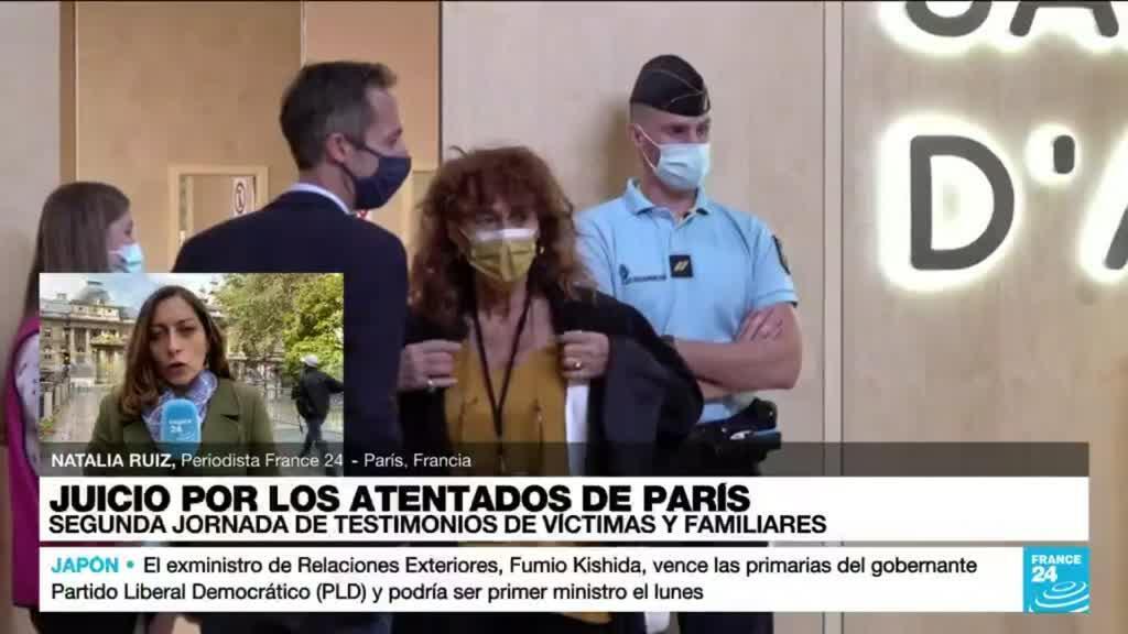 2021-09-29 15:05 Informe desde París: segunda jornada de testimonios de los sobrevivientes a los atentados de 2015