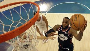 LeBron James a disputé, le 17 février 2019 à Charlotte, son quinzième All Star Game NBA.
