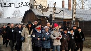 sVictims Remembrance Day, in Oswiecim, Poland, January 27, 2020 OK