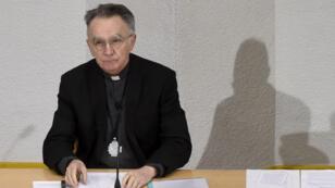 Mgr Georges Pontier, président de la Conférence des évêques de France
