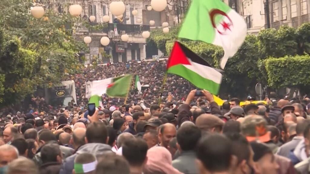 Algerian protesters mark two-year anniversary of Hirak rallies