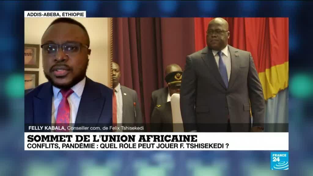 2021-02-07 18:04 Sommet de l'union africaine :  présidence de la RDC pour un an