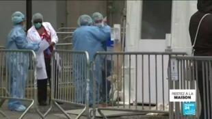 2020-03-25 10:08 Pandémie de Covid-19 : Le coronavirus s'étend à New-York