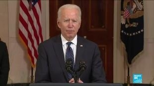 2021-04-21 08:04 Biden calls Chauvin verdict a 'giant step' toward justice in the United States