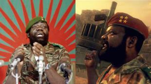 "Jonas Savimbi, le 11 décembre 1985 - Capture d'écran du jeu ""Call of Duty"""