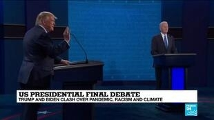2020-10-23 10:01 Trump and Biden trade blows, but no knockouts in final debate