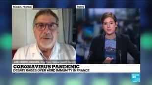 2020-08-02 22:05 coronavirus pandemic : debate rages over herd immunity in France