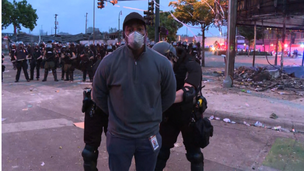 Black CNN reporter, crew released after live arrest covering Minneapolis riots