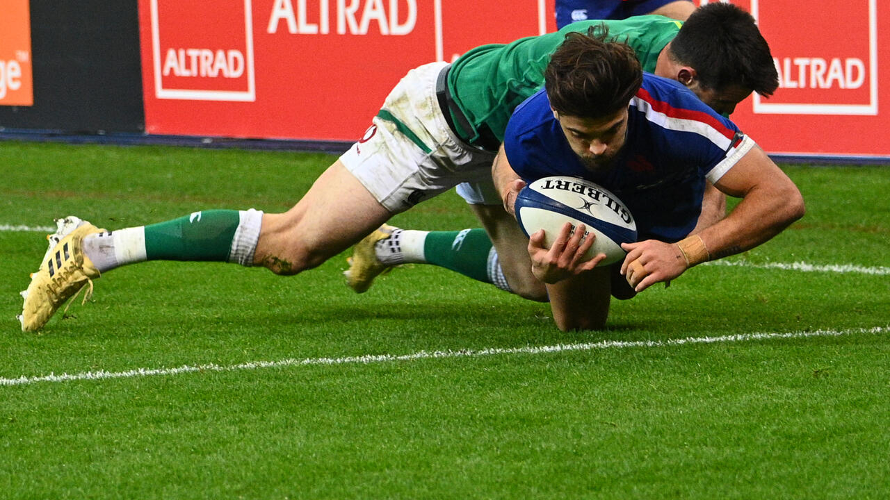 England win rugby's Six Nations as France defeat Ireland in Paris