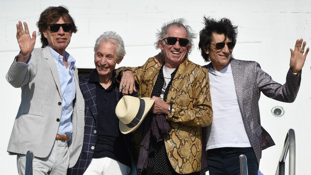 Mick Jagger, Charlie Watts, Keith Richards et Ron Wood se produiront pour la première fois à La Havanne.