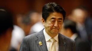 رئيس الوزراء الياياني شينزو آبي
