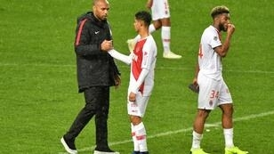 Still waiting: Thierry Henry has yet to see Monaco win in his three games since taking charge
