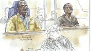 Tito Barahira et Octavien Ngenzi ont été condamnés pour crimes contre l'humanité par la cour d'assises de Paris, le 6 juillet 2016.